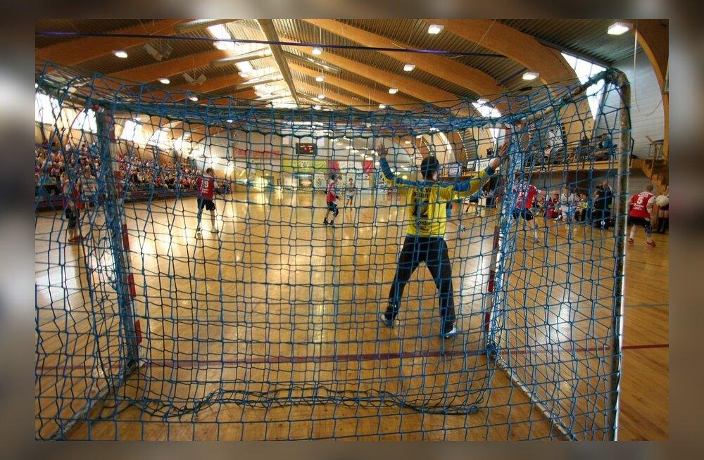 Käsipalli kolmas finaalmäng Põlvas