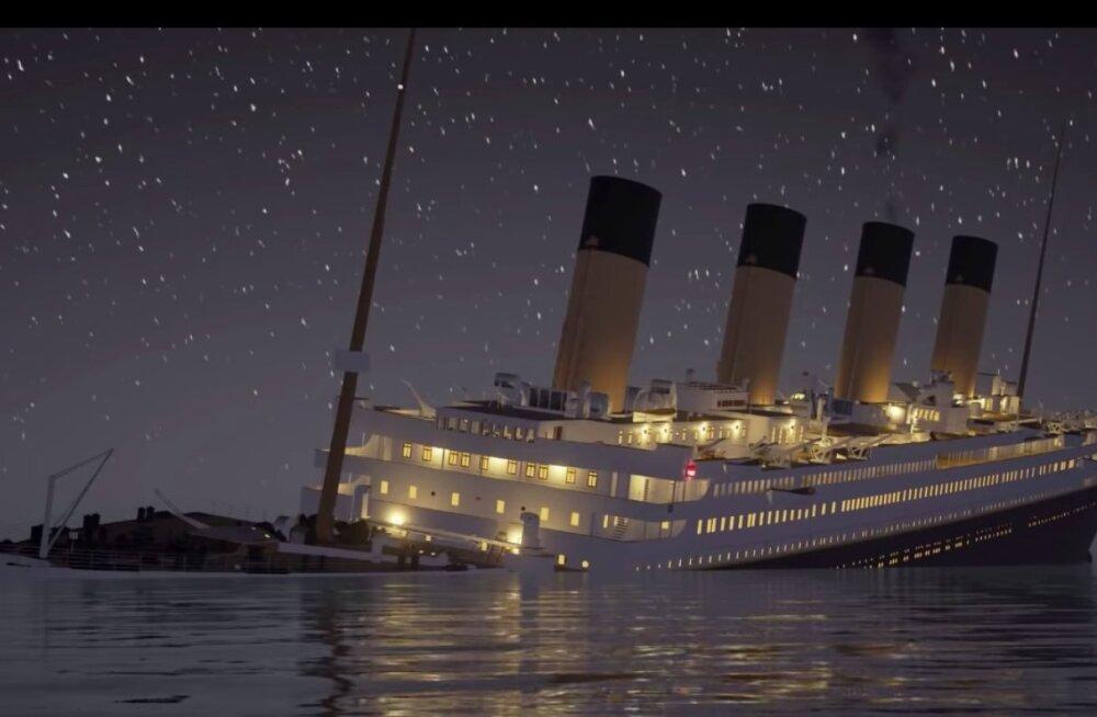 ÕÕVASTAV VAATEPILT | Titanicu huku täispikk ja detailideni täpne videoanimatsioon