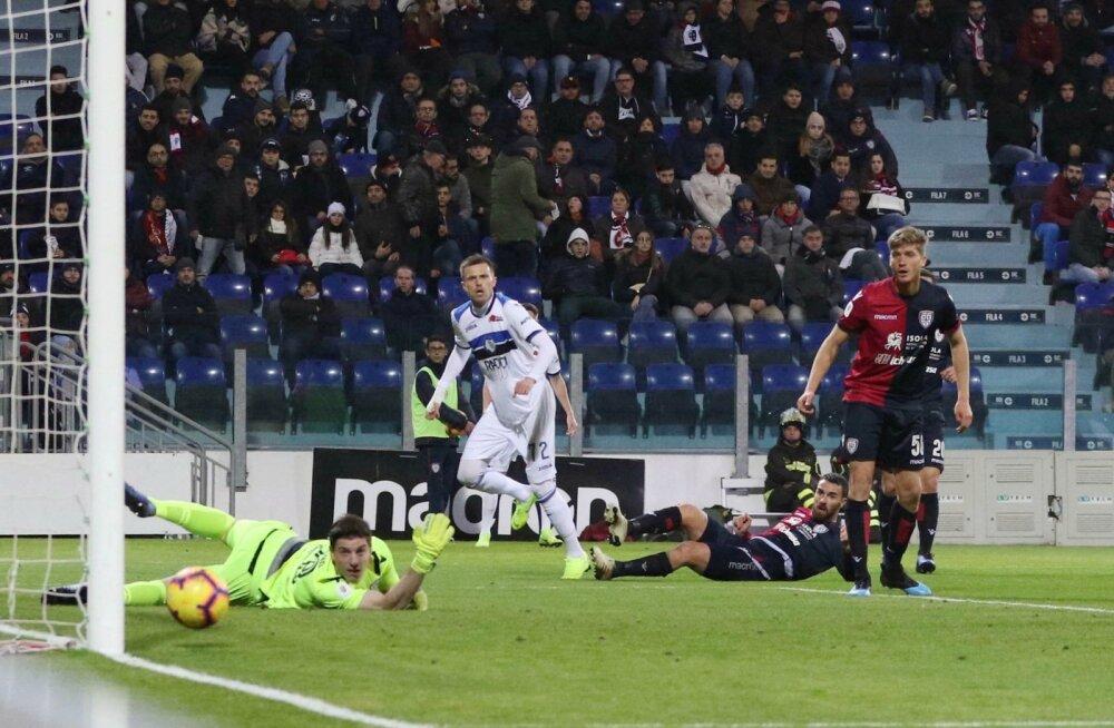 Kas pall leiab tee väravasse? Cagliari vs Atalanta