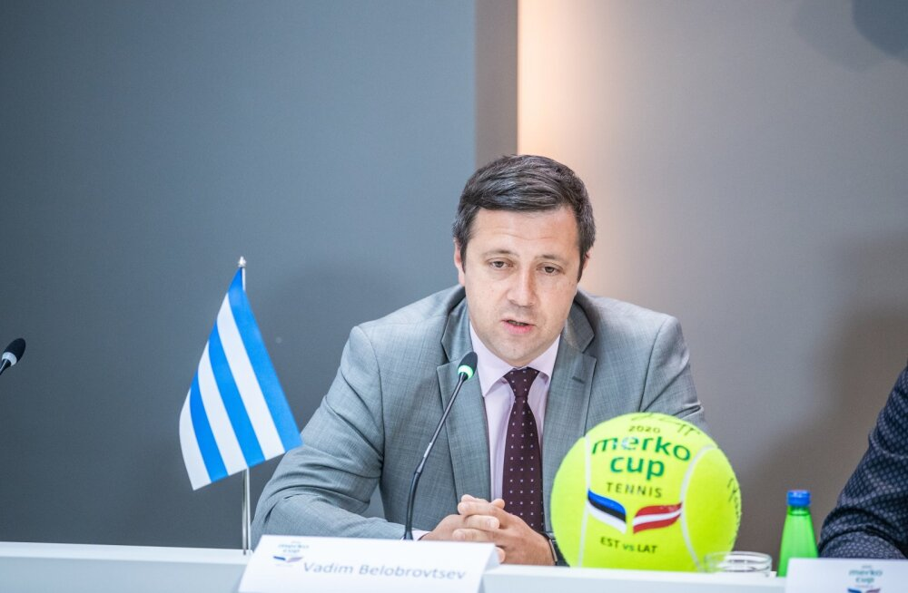 Tallinna abilinnapea Vadim Belobrovtsev.