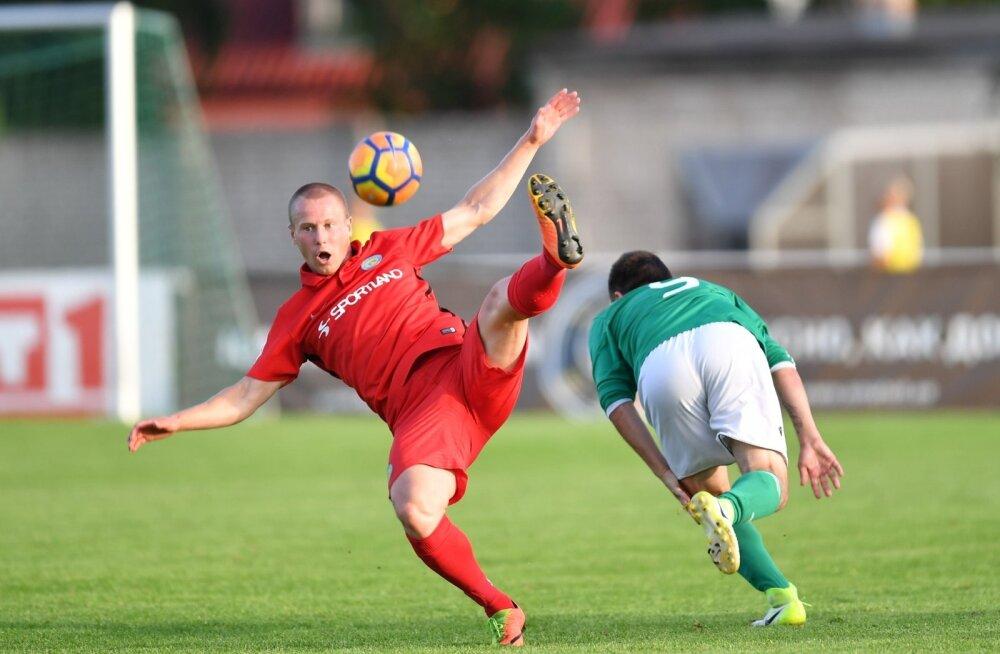 Jalgpall TIPNERI KARIKAVÕISTLUSED Narva Trans vs Levadia III