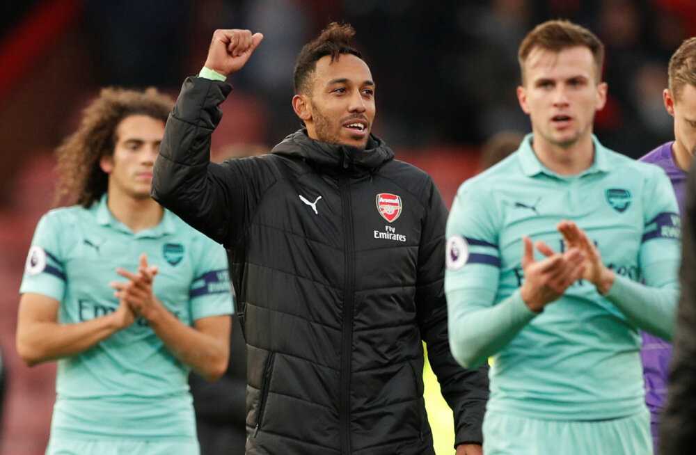 VIDEO | Londoni Arsenal sai võõrsil väärtusliku võidu ja püsib esineliku kannul