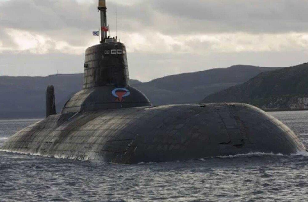 Venemaa saadab sõjaväeõppuse Zapad ajaks Balti merele maailma suurima tuumaallveelaeva Dmitri Donskoi.