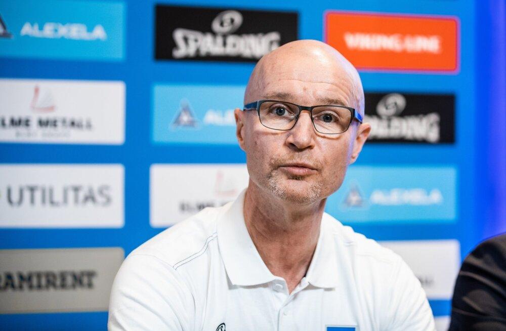 Korvpalli rahvuskoondise uus peatreenerJukka Toijala