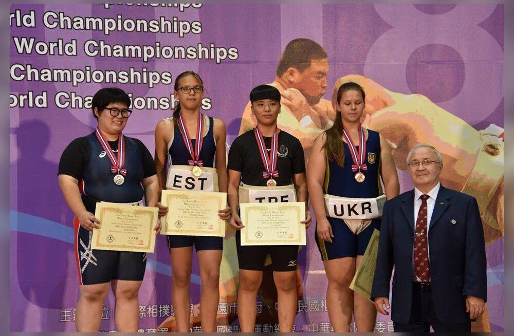 Eestlanna tuli sumos juunioride maailmameistriks