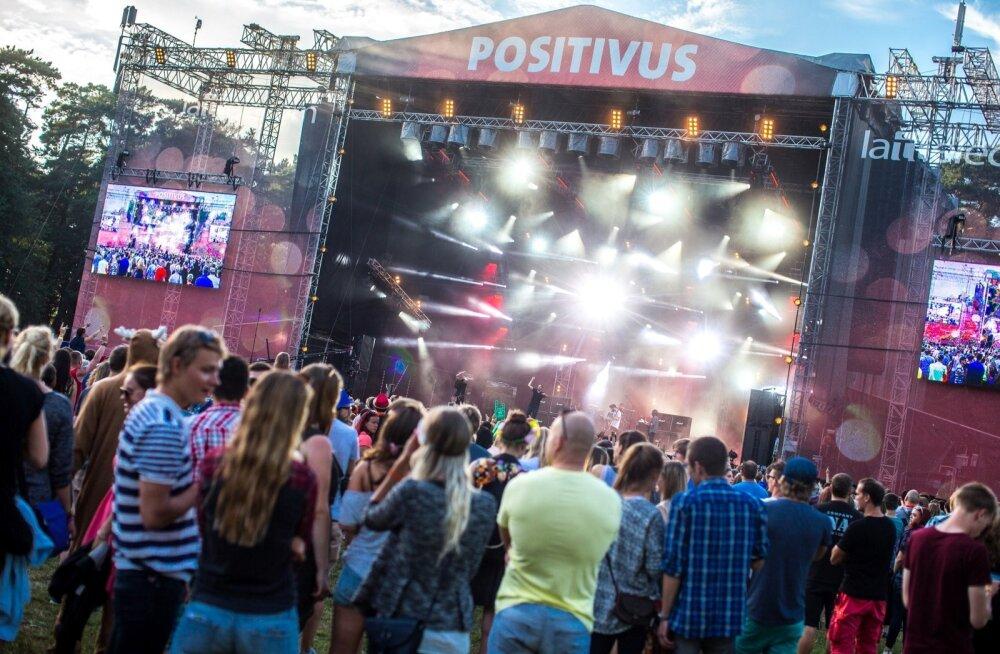 """Positivusest on pärast Rock Summeri hingusele minekut saanud eestlaste jaoks kõige """"omam"""" rokkfestival."""