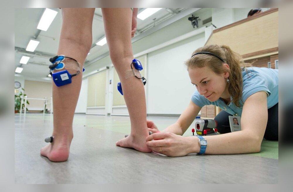 Luukerede arvutitants Haapsalus aitab sadade haigete laste jalgu