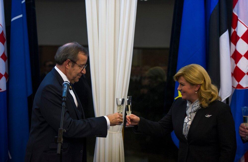 Horvaatia presidendi vastuvõtt