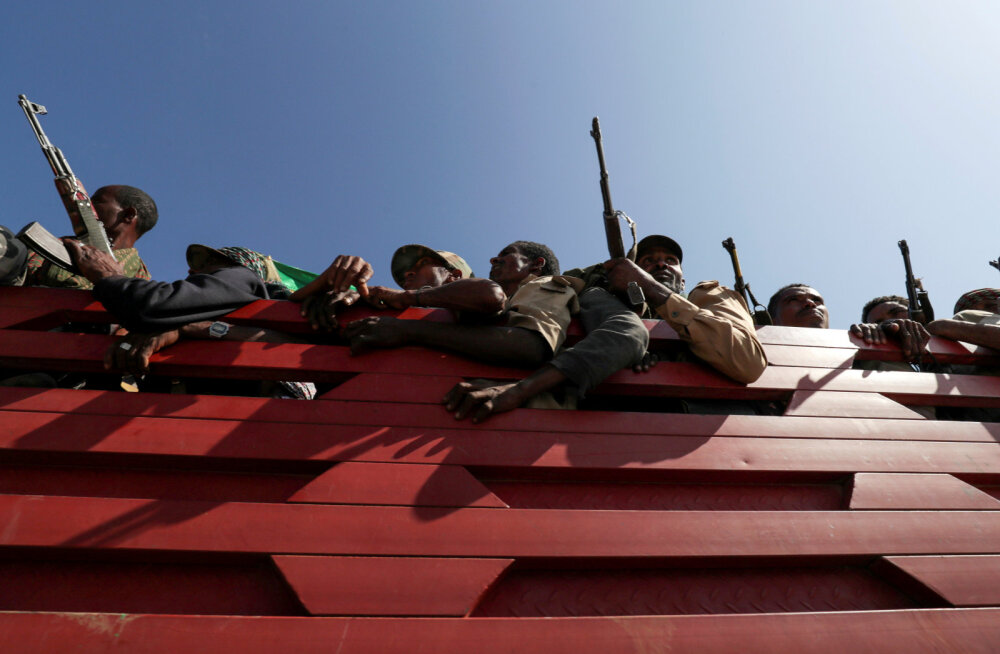 Etioopia lennujaamad jäid raketitule alla
