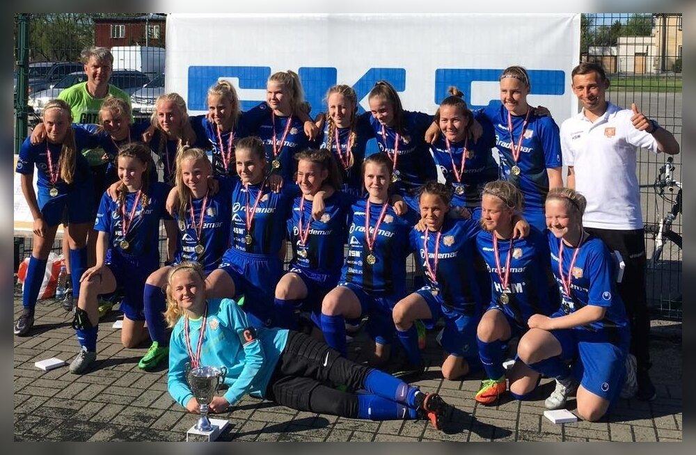 SKF CUP 2017 võitja JK Tabasalu