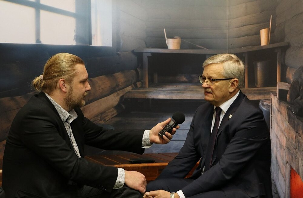 Grüne Woche Eesti stendil saab käia virtuaalses suitsusaunas