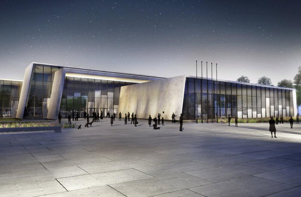 Sisekaitseakadeemia uus hoone sai ehitusloa