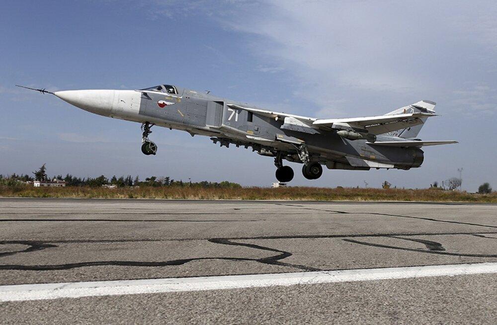 Föderatsiooninõukogu kiitis heaks Vene lennuväegrupi tähtajatu paigutamise Süüriasse