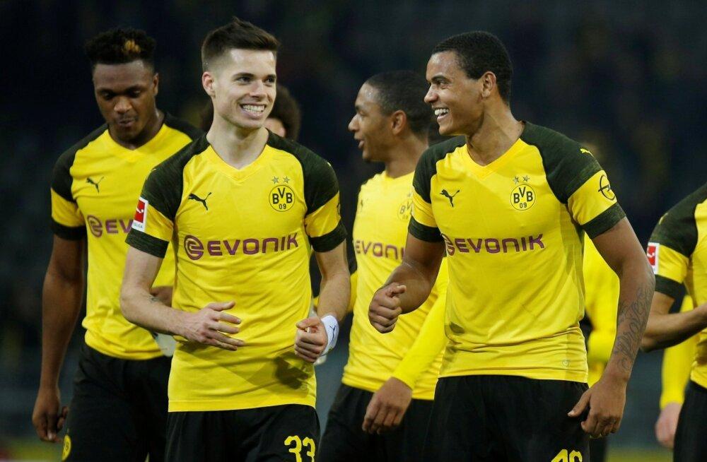 Dortmundi Borussia lõpetas Bundesligas kolmemängulise viigiseeria.
