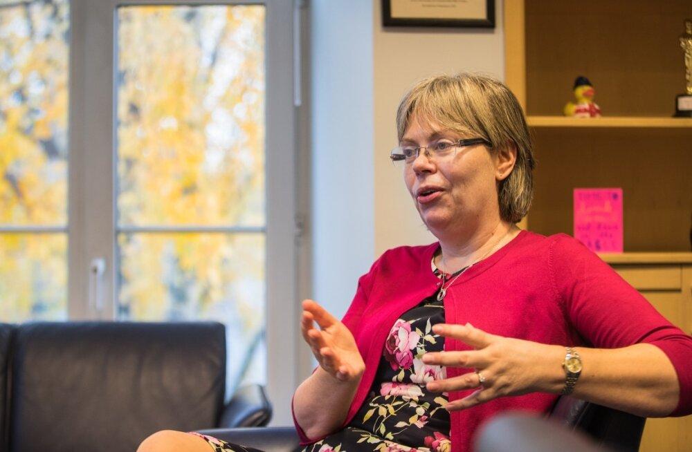Suurbritannia suursaadik Theresa Bubbear ütleb, et tema ei pea Eestit Ida-Euroopaks.