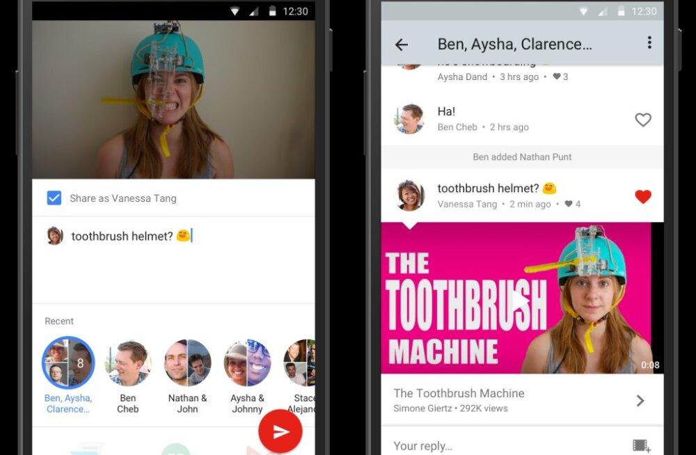Üllatus: YouTube'is saab ka vestelda