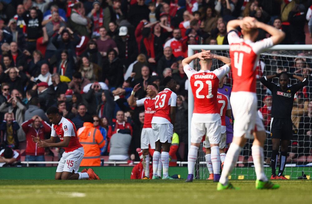 Pettunud Arsenali mängijad