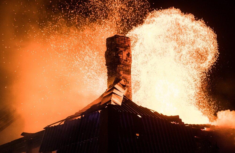 Kortermaja põleng Voldi külas