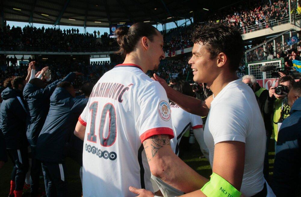 PSG kapten avaldas: Ibrahimovic vahetas minu tõttu klubi