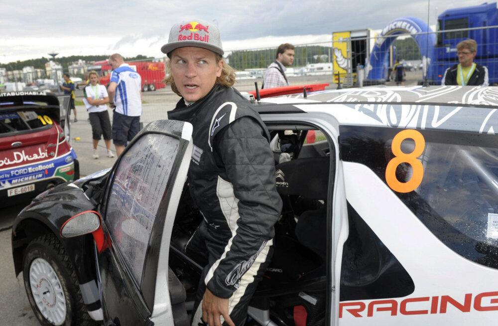Räikkönen ei välista WRC masina rooli naasmist: igatsen rallit