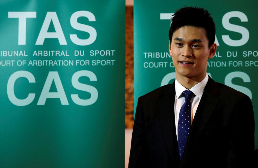 Haamriga dopingupurgid hävitanud Hiina ujuja sai kaheksa-aastase võistluskeelu