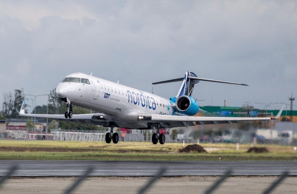 14 otselennusihtkohta vähemalt on Nordical. (Oktoobri lõpust peatatakse lendamine viiel kahjumlikul liinil, kuni konkurentsiolukord paraneb, ning jätkatakse lende Tallinnast Stockholmi, Brüsselisse ja Varssavisse, mida teenindab alates 1. juulist LOT.)