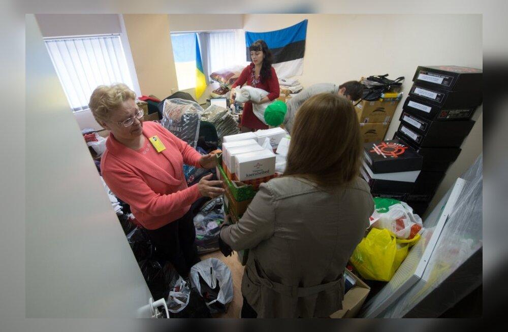 Eesti mittekodanike liit kogub humanitaarabi Ida Ukraina elanike jaoks
