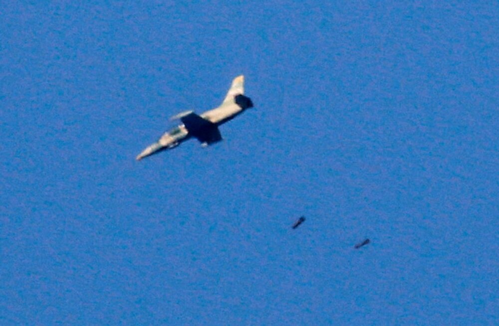 Iisrael tulistas alla Süüria hävitaja