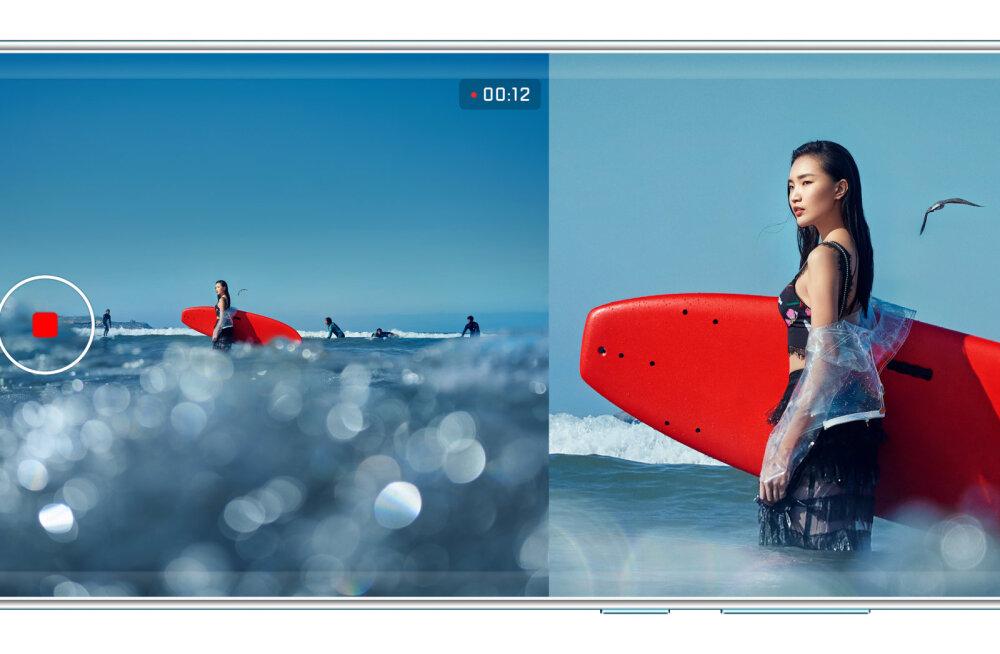 Huawei tipptelefonidel saab nüüd videot filmida kahes vaates korraga