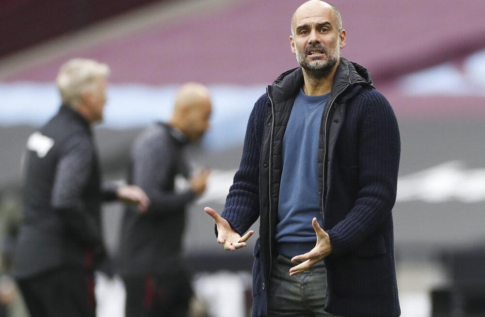 Manchester City kaotas Premier League'is taas punkte