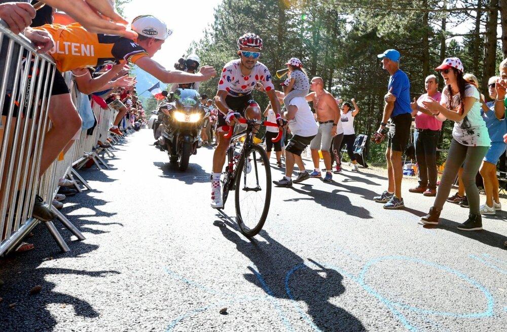 Julien Alaphilippe teeb Touril muljetavaldavat sõitu