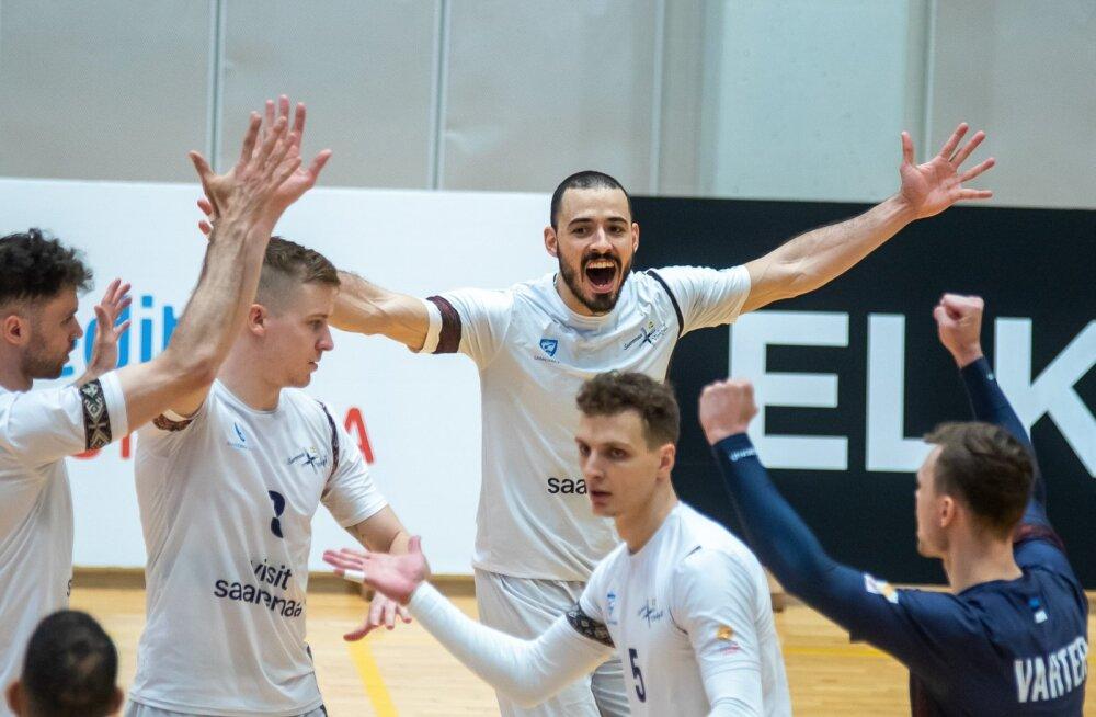 Credit 24, võrkpall, Saaremaa vk ja RTU