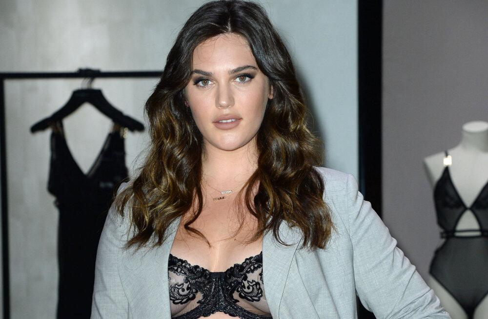 Бренд Victoria's Secret впервые стал работать с plus-size моделью