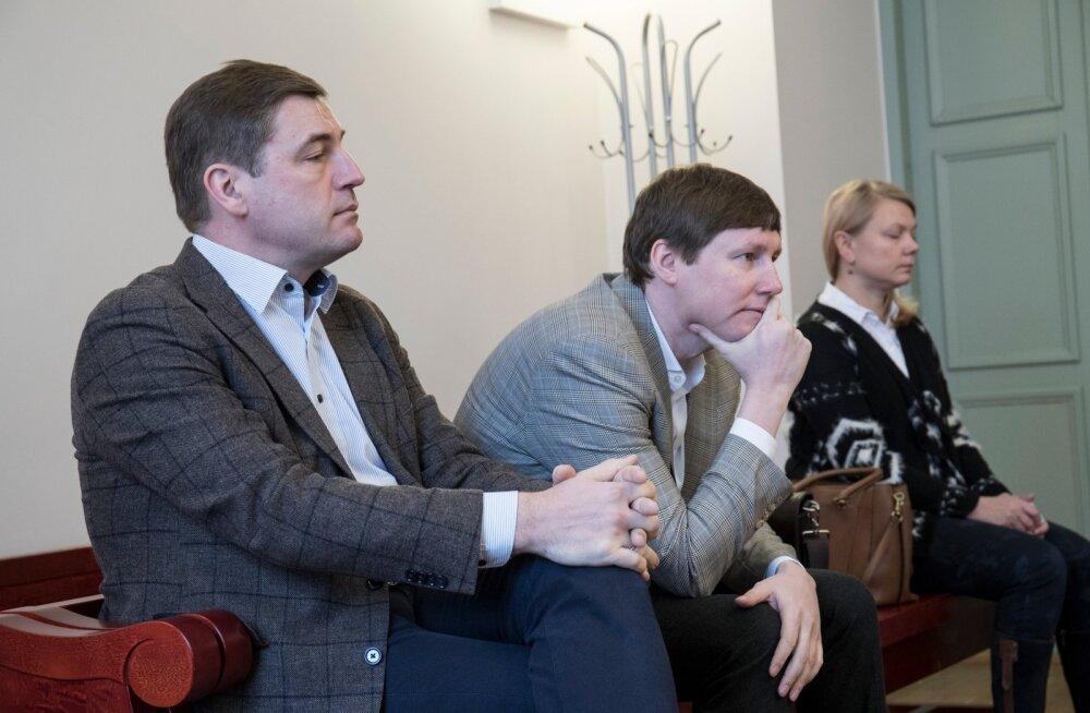 PERH-i endised juhid ringkonnakohtus. Marko Kilk ja Tõnis Allik