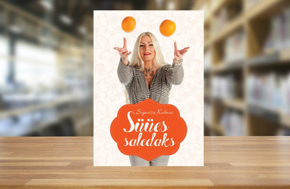 """Signessa Kalmuse äsja ilmunud raamat """"Süües saledaks"""" annab nõu, kuidas läbi teadliku toitumise kaalu langetada"""