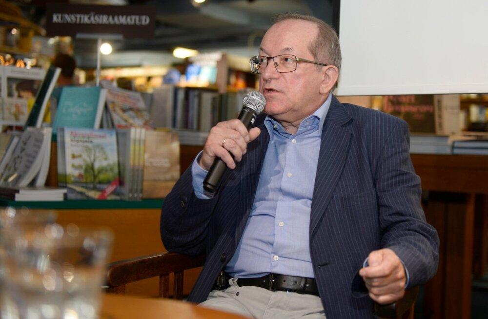 Vladimir Juškini raamatuesitlus Viru Keskuse Rahva Raamatus