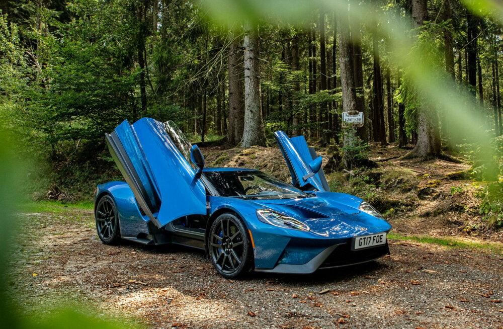 Ford GT: sünnipäevaks valminud meistriteos