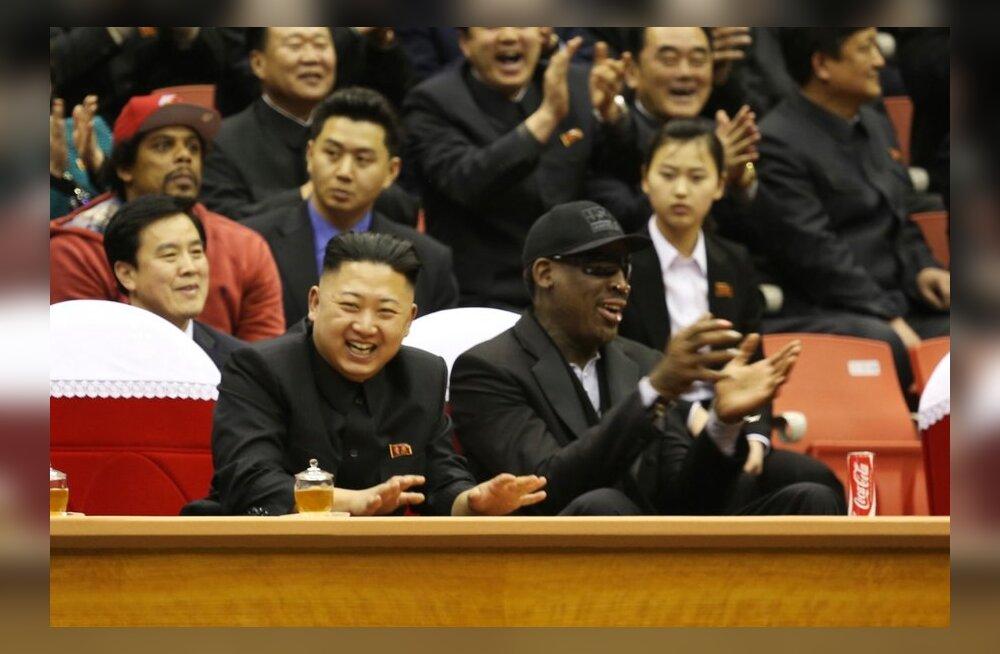 Dennis Rodman, Kim Jong-un