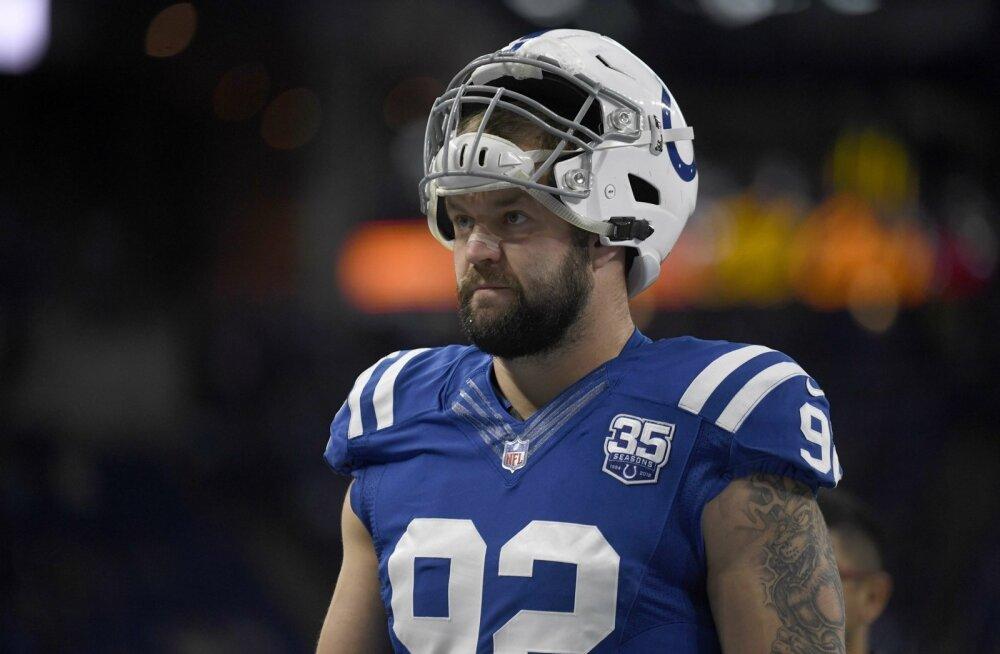 Margus Hunt tegi Indianapolis Coltsi ridades läbimurdehooaja.