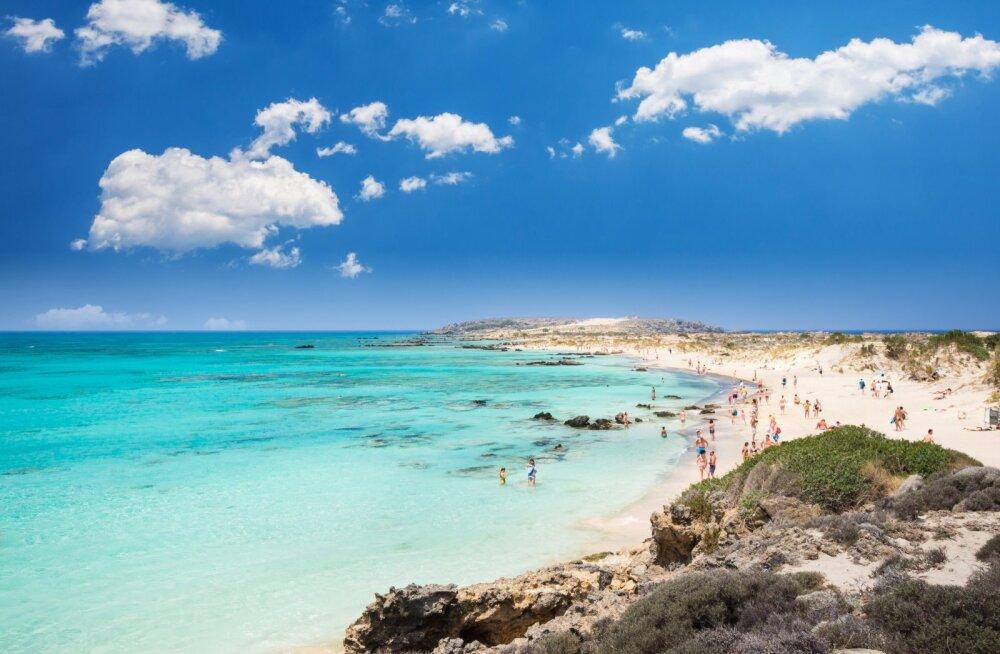 Kreeta saar oli muutunud koroona-aastal eestlaste seas üheks populaarsemaks puhkusepaigaks.