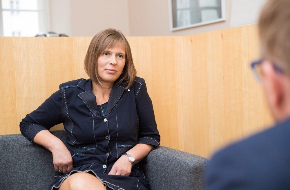 Kersti Kaljulaid Riigikogus