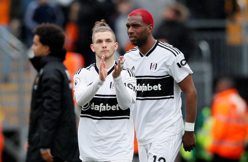 Premier League'is sündis uus vanuserekord: Fulhami eest jooksis platsile verinoor mängija