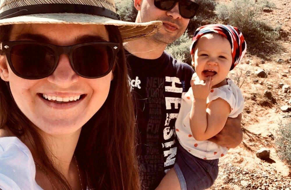 Jane, Anthony ja Robin Tuleorus.