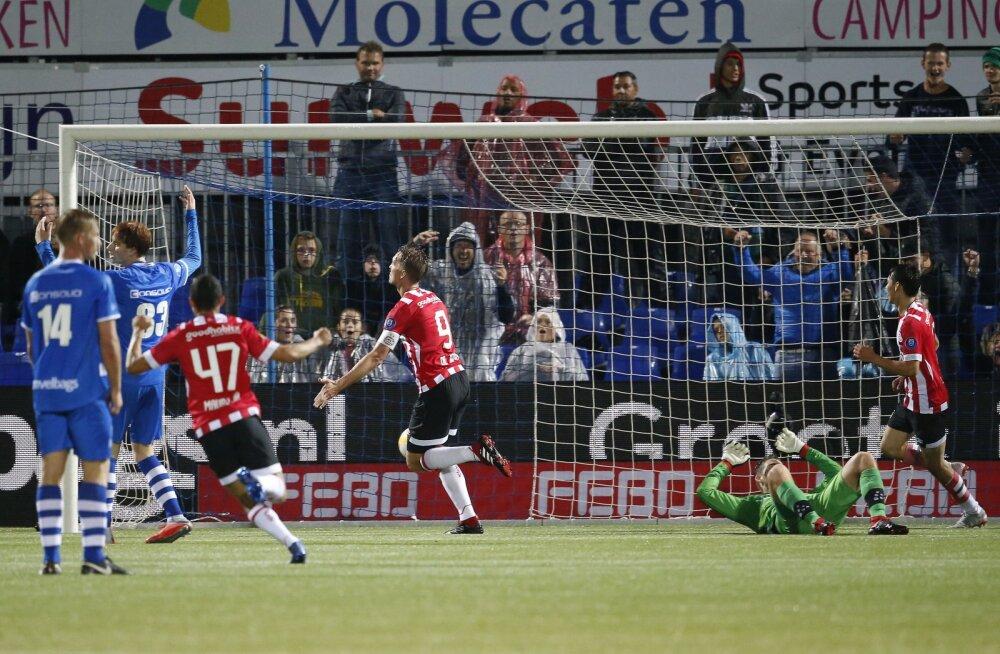 PSV mängija Luuk de Jong on löönud värava