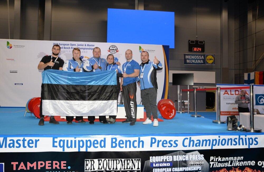 Kaido Leesmann tuli maailmarekordiga Euroopa meistriks