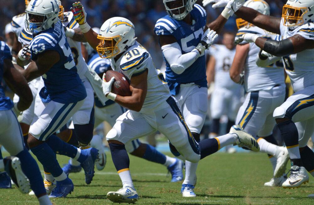 Colts ja Hunt said ülivaluse kaotuse, alt vedas veteranist superstaar