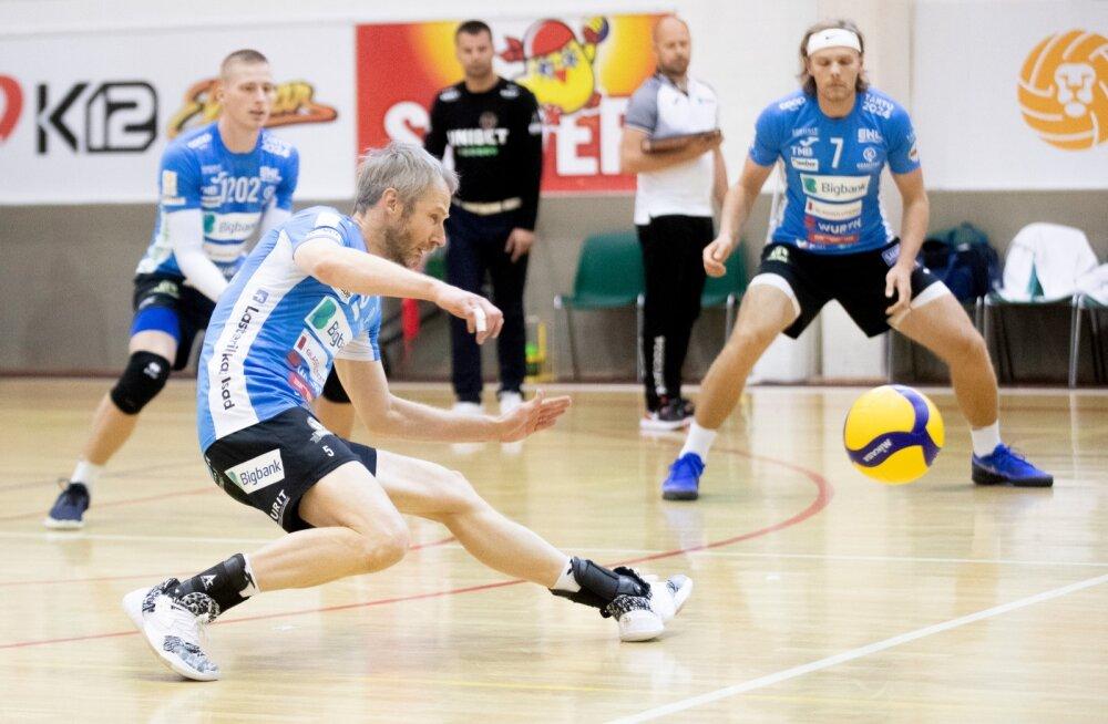 Võrkpall, Tallinna Selver vs Tartu Bigbank