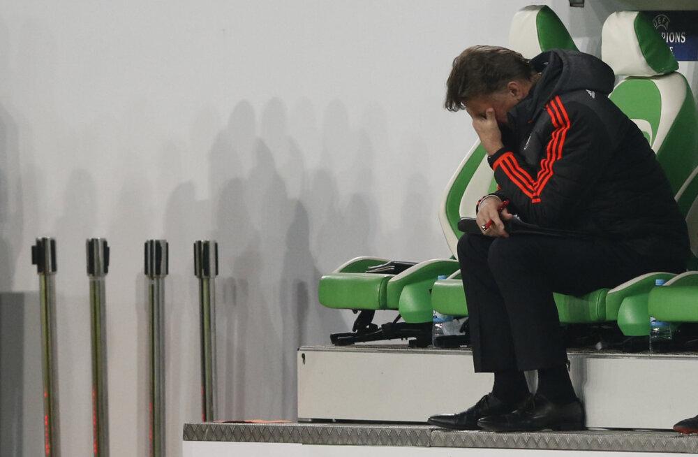 Louis van Gaal pärast dramaatilist väljalangemist: see oli hull mäng!