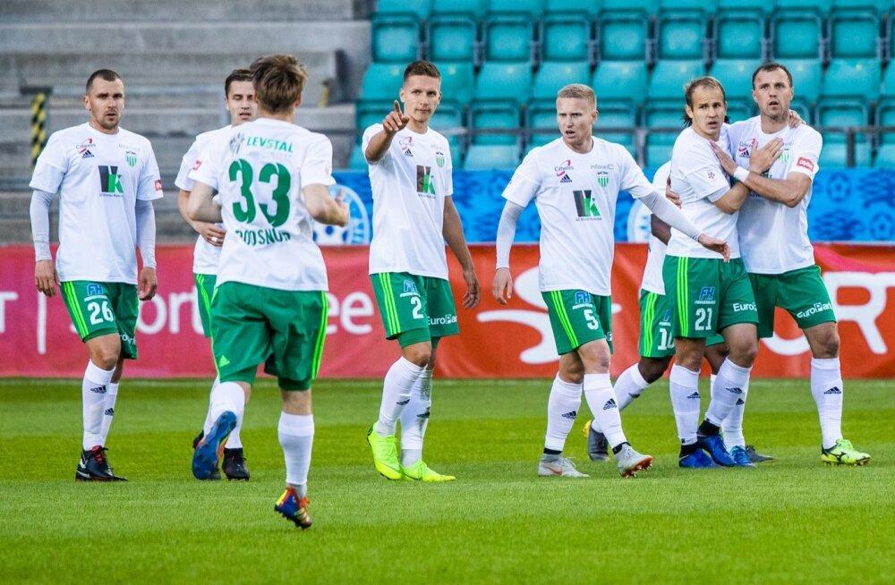 Jalgpall. FC Levadia vs FC Flora