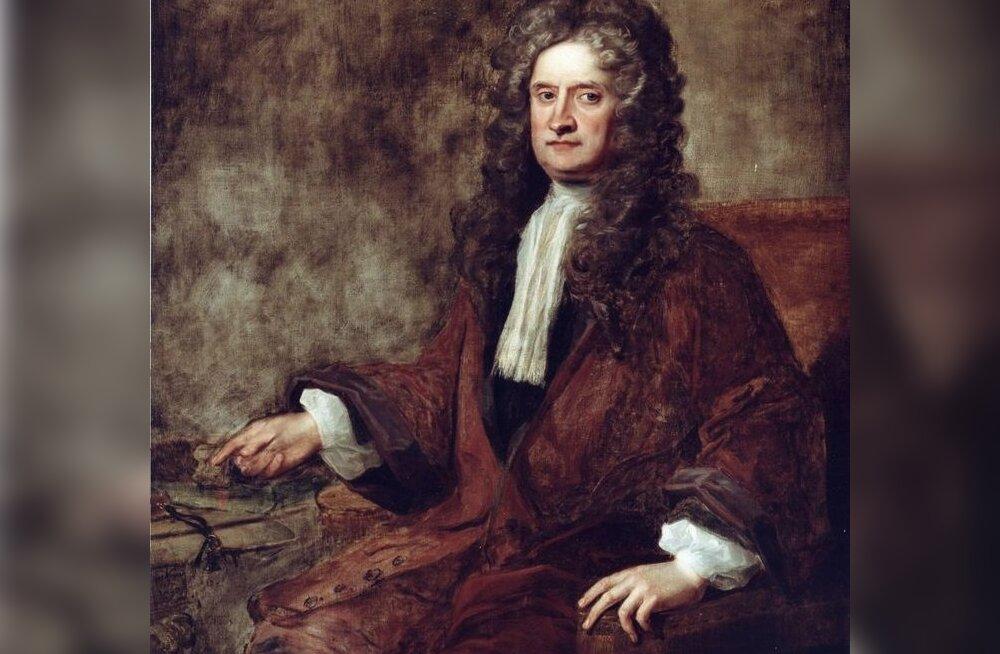 Füüsik Isaac Newtoni salahobi— alkeemia